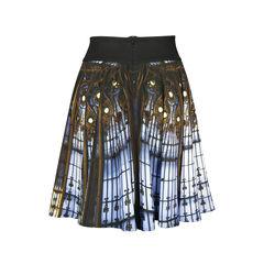 Agnes b gallerie lafayette print skirt 2