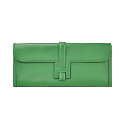 Authentic Second Hand Hermès Jige Elan Long Clutch (PSS-051-00022)