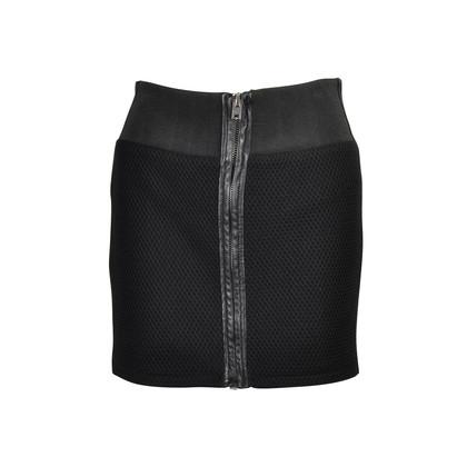 Authentic Second Hand IRO Lambskin Trim Skirt (PSS-143-00062)