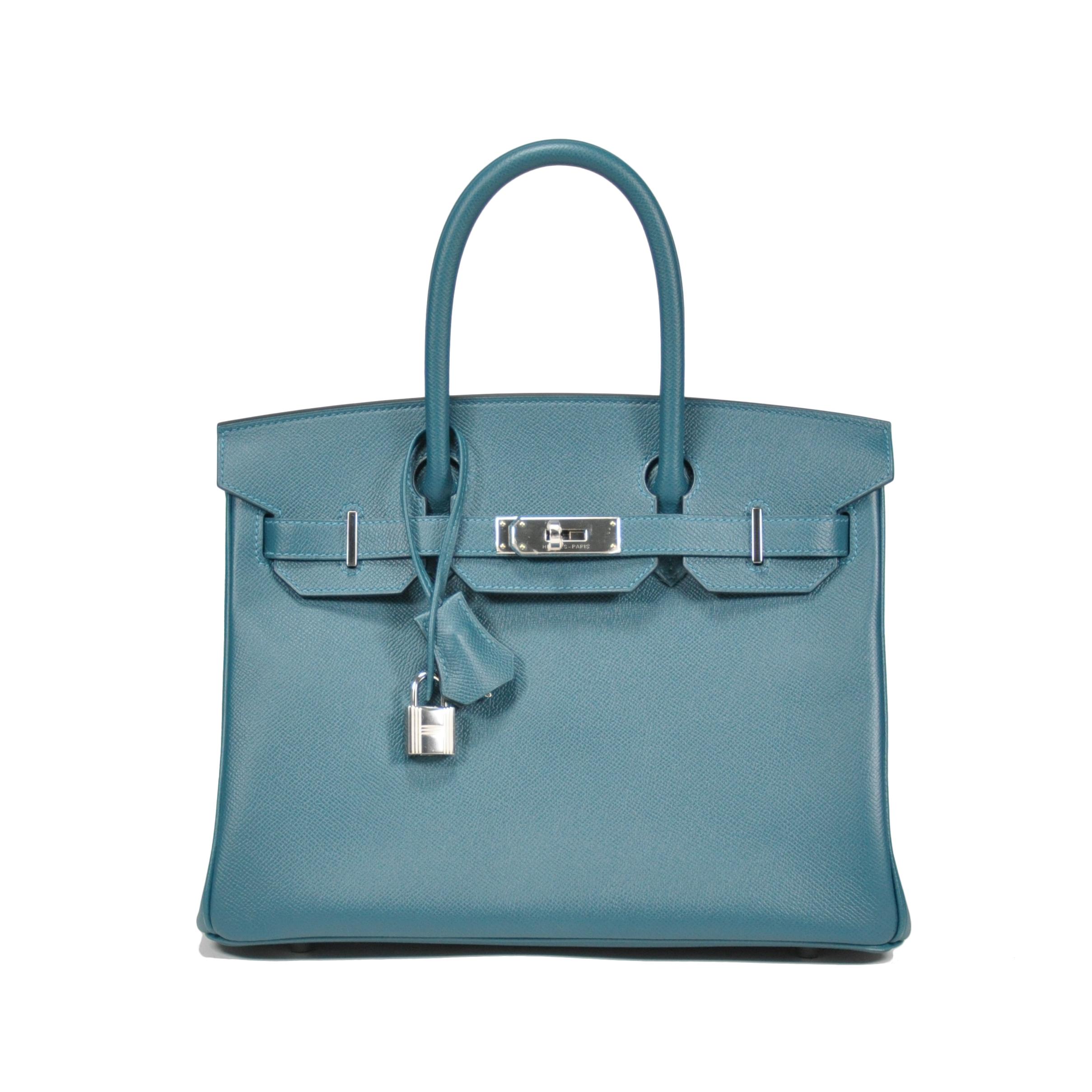 6de2ba1aef Authentic Second Hand Hermès Colvert Birkin 30 (PSS-145-00070)