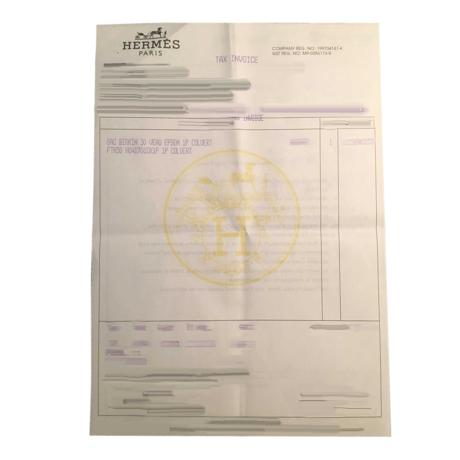 e2fcc770f7 ... Authentic Second Hand Hermès Colvert Birkin 30 (PSS-145-00070) -  Thumbnail