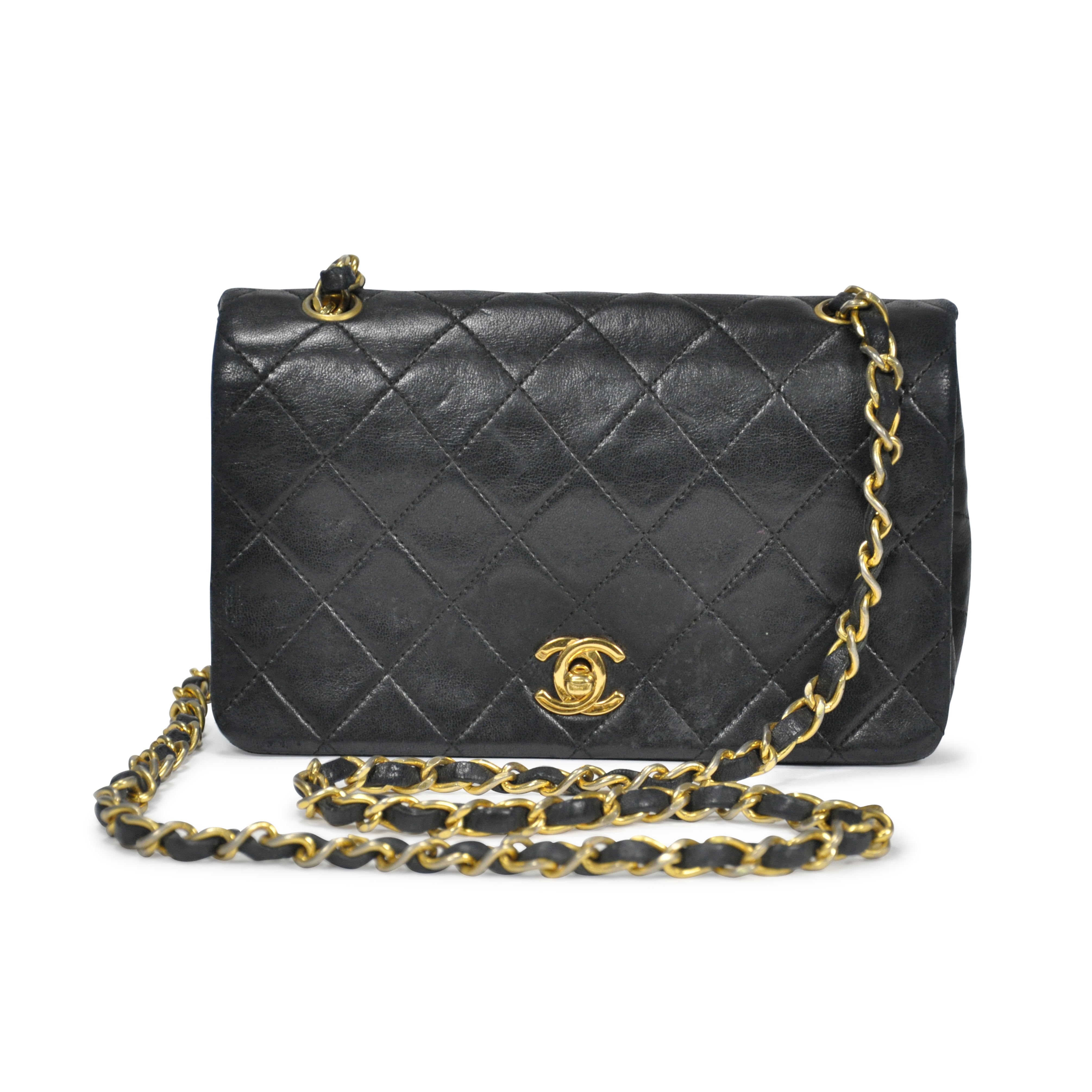 5adeff06bc057f Authentic Vintage Chanel Mini Single Flap Crossbody (PSS-201-00004) | THE  FIFTH COLLECTION