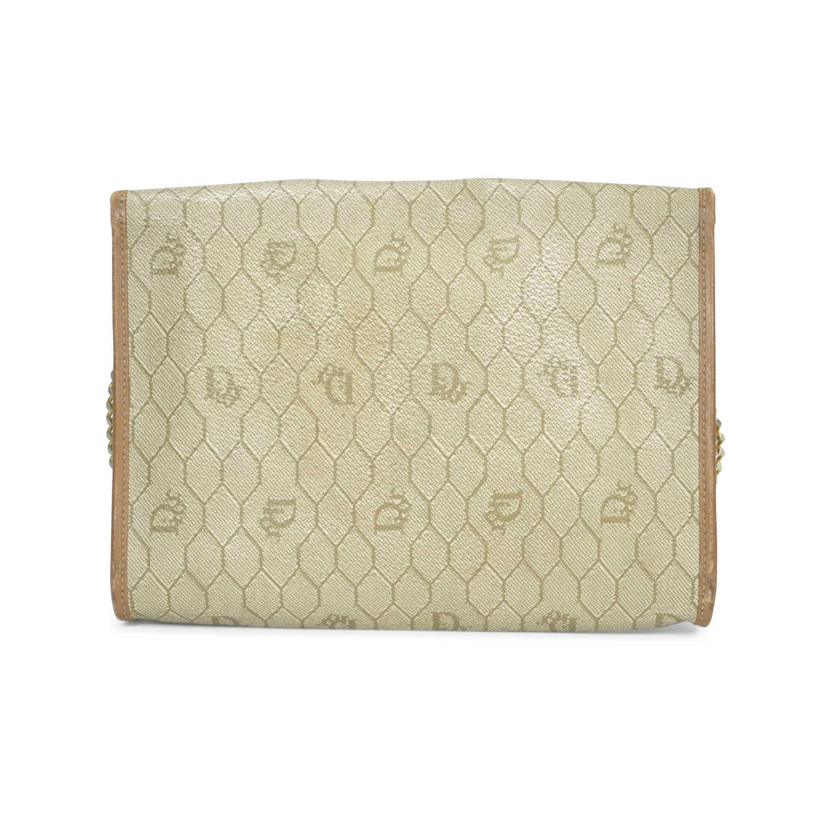 aef81958e14d ... Authentic Vintage Dior Honeycomb Chain Strap Bag (PSS-201-00006) -  Thumbnail ...