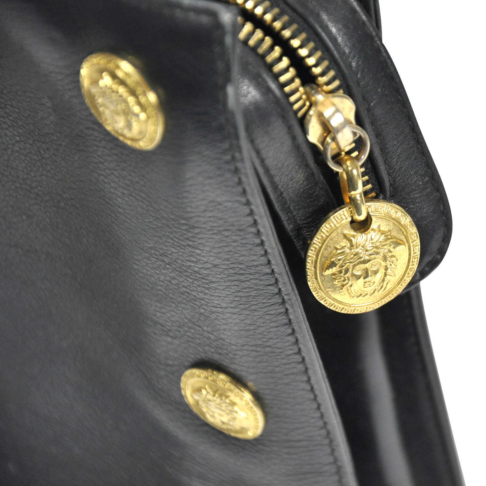 ... Authentic Vintage Versace Medusa Bag (PSS-201-00008) - Thumbnail 5 ... 9e5ffe1713a97