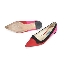 Prada suede pointed toe flats 2
