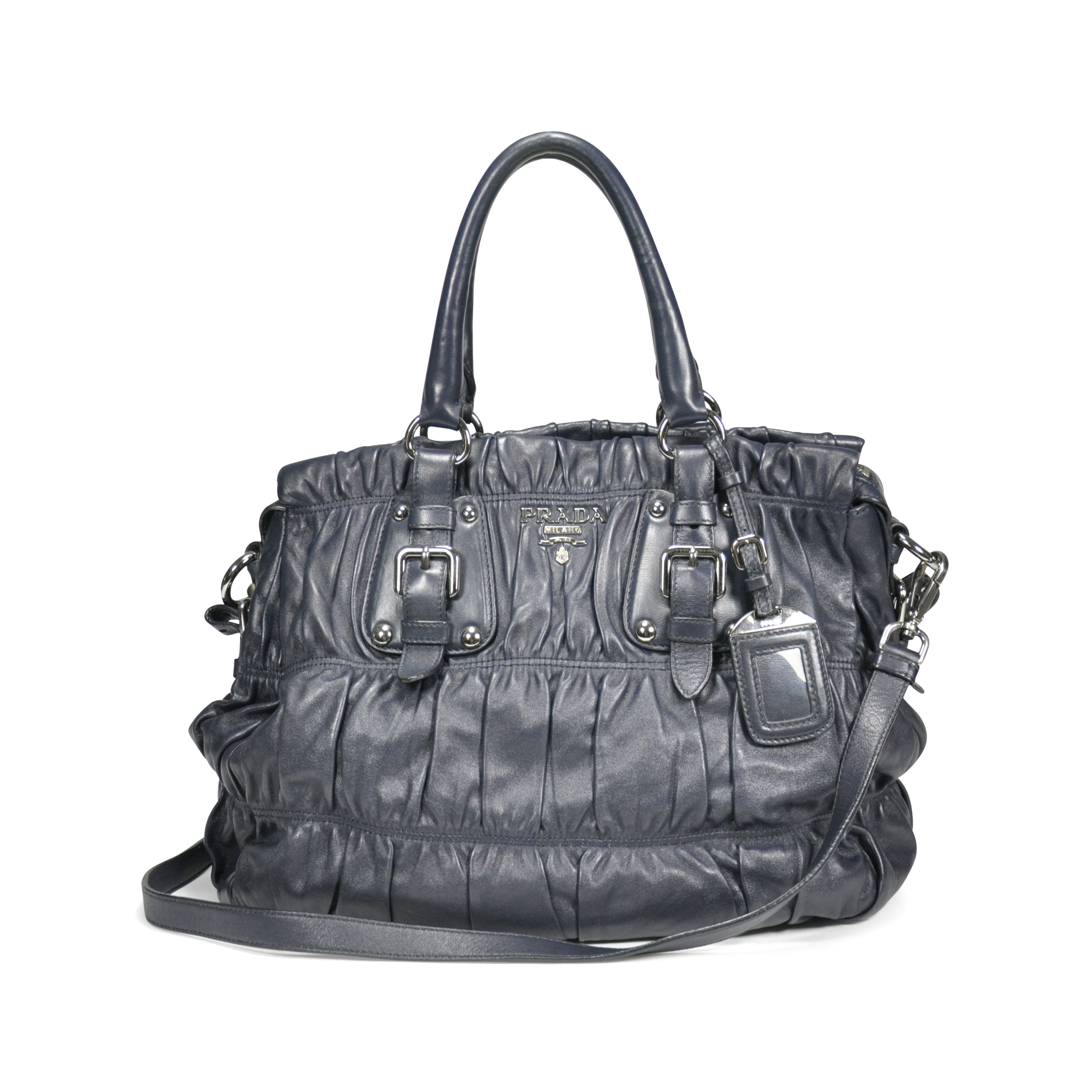259348e9baa4 Authentic Second Hand Prada Nappa Gaufre Bag (PSS-199-00004) | THE FIFTH  COLLECTION
