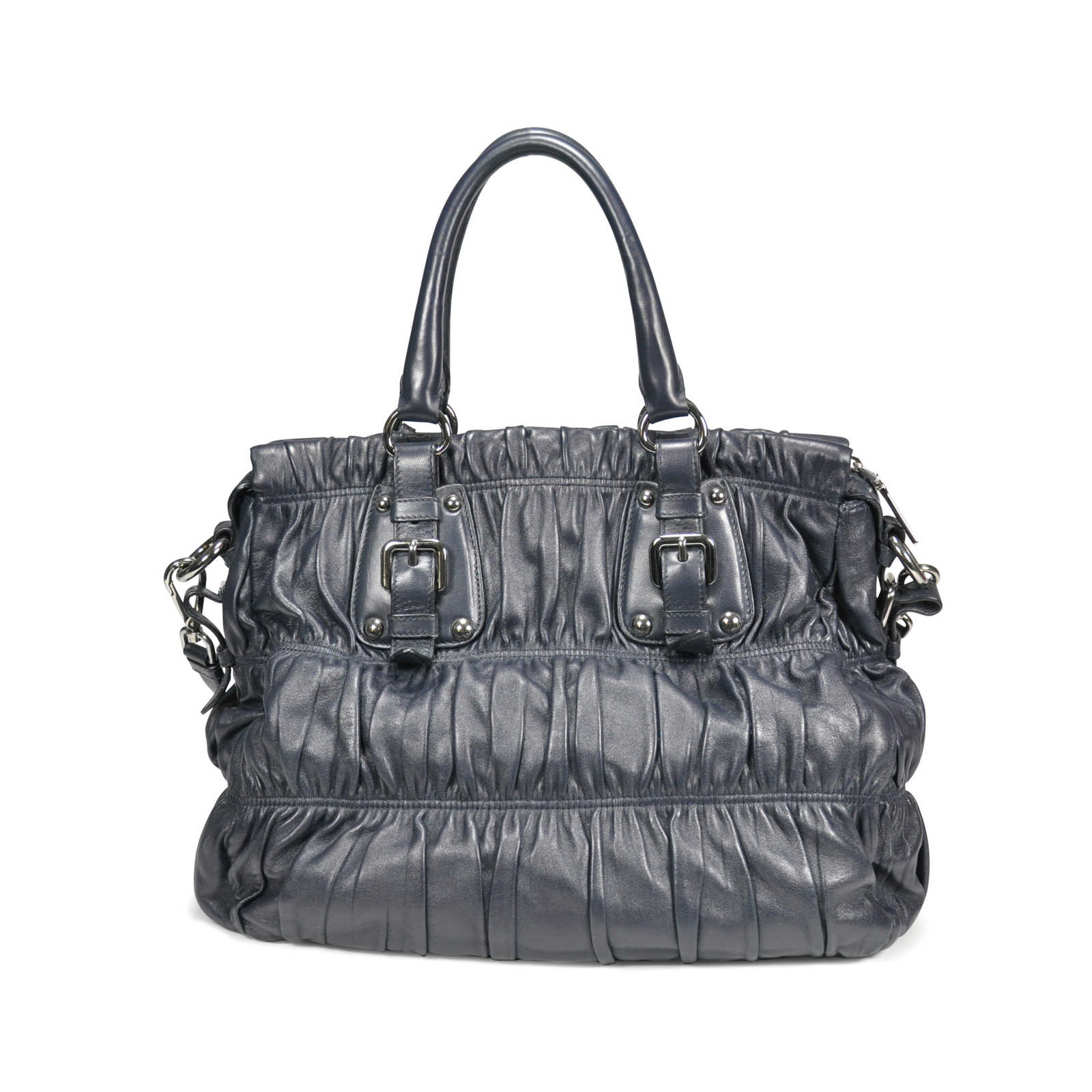 311748261701 ... Authentic Pre Owned Prada Nappa Gaufre Bag (PSS-199-00004) - Thumbnail  ...