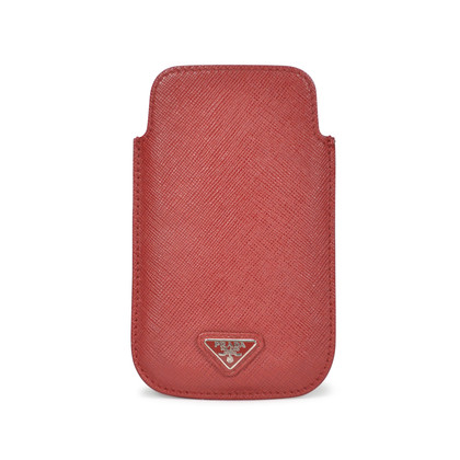 Authentic Pre Owned Prada Saffiano Leather Phone Case (PSS-199-00007)