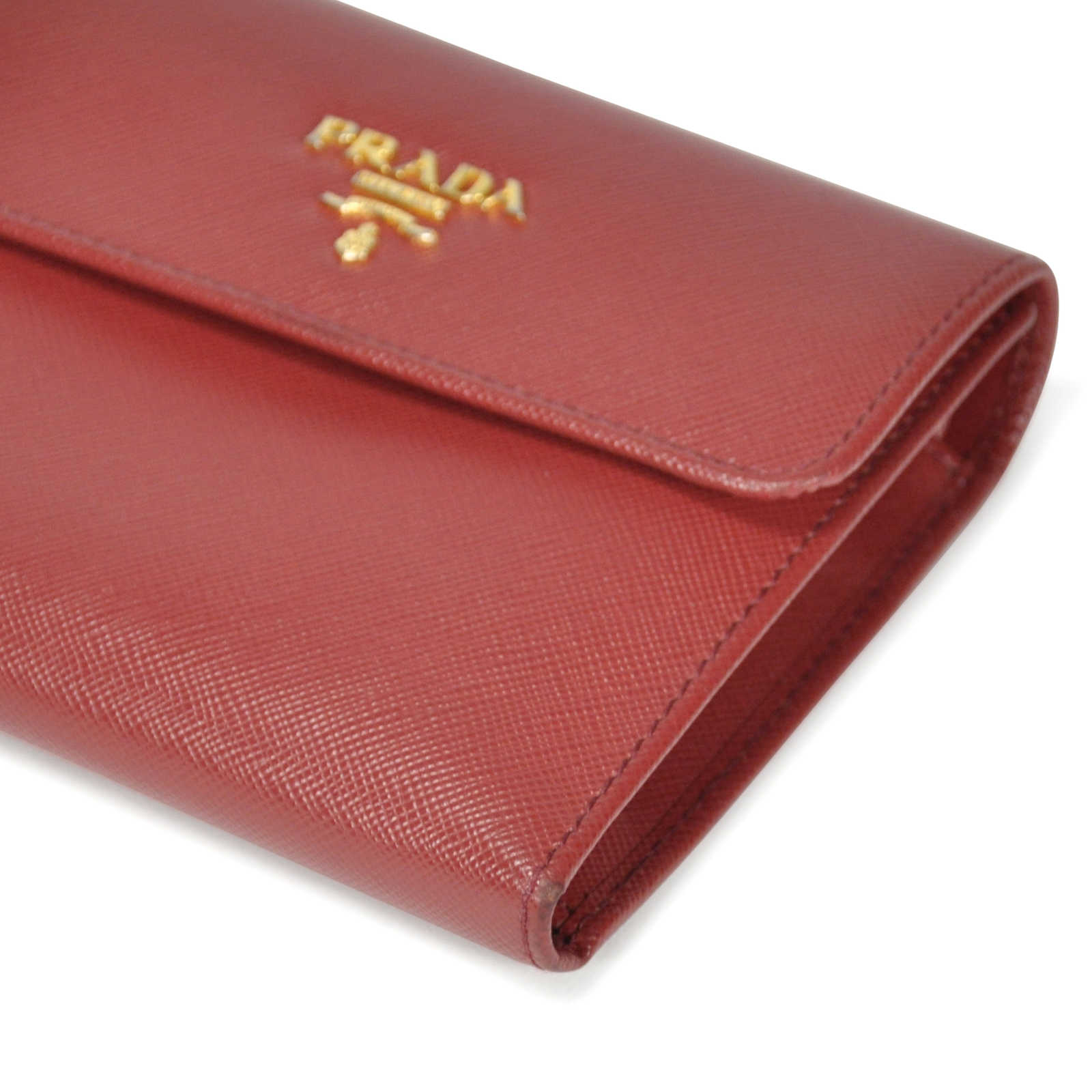 ce4feb3cdb9a ... Authentic Second Hand Prada Saffiano Foldover Wallet (PSS-199-00008) -  Thumbnail ...