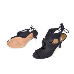 Aquazzura sexy thing suede sandals 2