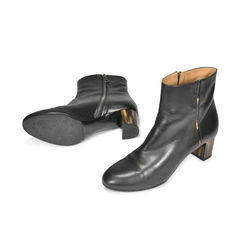 Dries van noten tortoise shell laquered heel booties 2