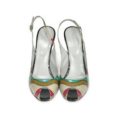 Eel Skin Sandals