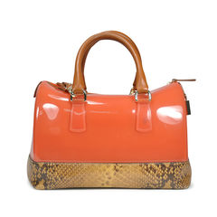 Furla candy bag with leather 2
