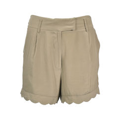 Scallop Hem Shorts