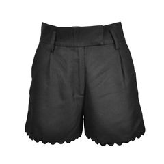 Scallop Trim Shorts