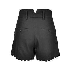 The kooples scallop trim shorts 2