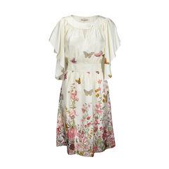 Fleur wood butterfly print dress 2