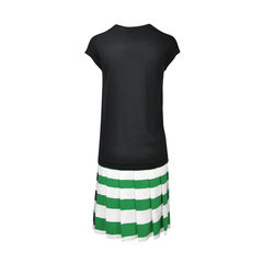 Markus lupfer striped bottom dress 2