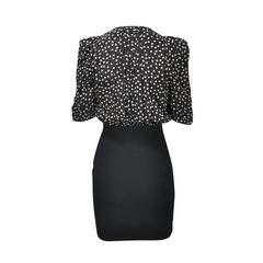 Sandro polka dot sheath dress 2