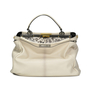 Authentic Second Hand Fendi Snakeskin and Leather Large Peekaboo Satchel (PSS-143-00047) - Thumbnail 2