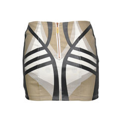 Sass and bide graphic print skirt 2