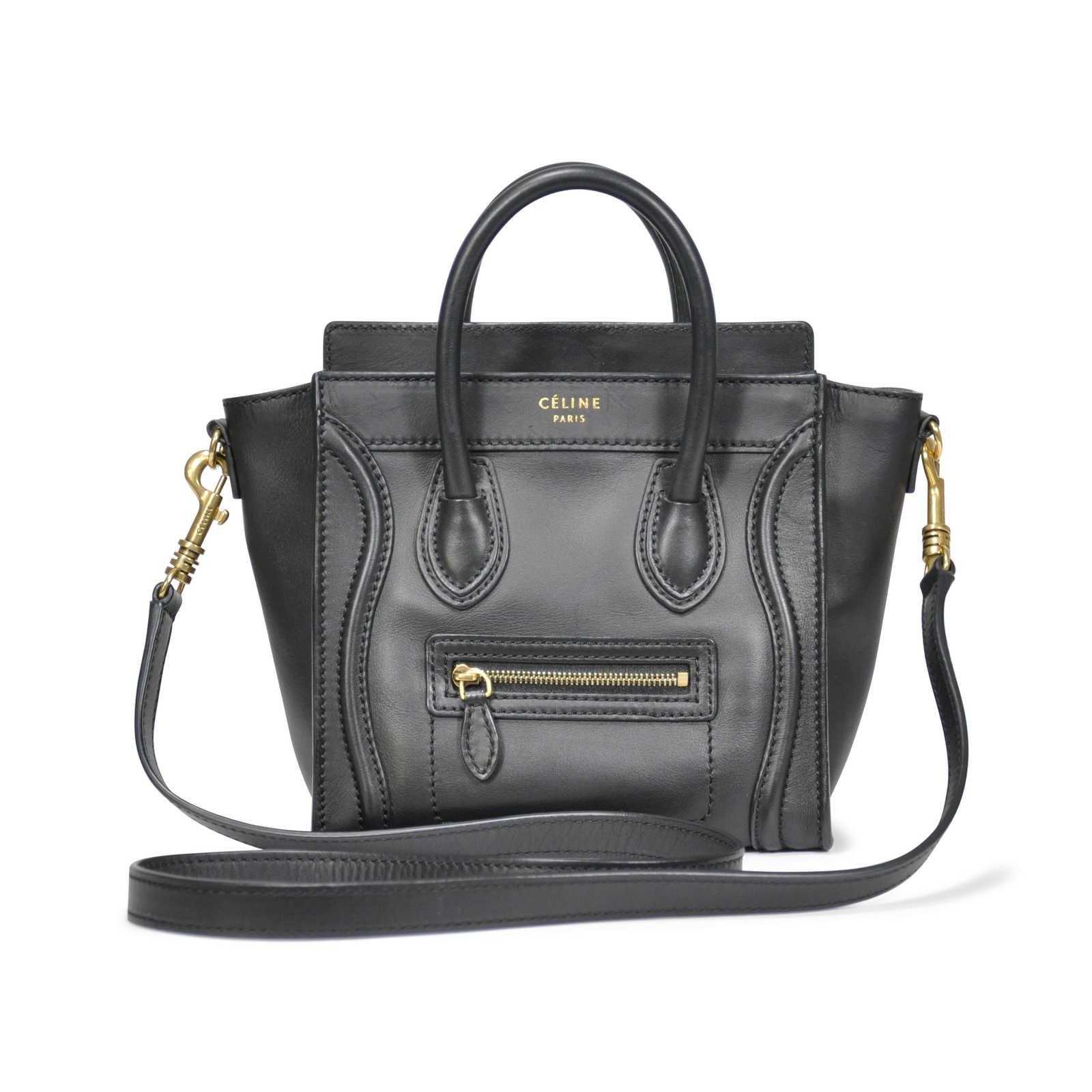 Authentic Second Hand Céline Nano Luggage Bag (PSS-183-00038) - Thumbnail  ... f0787ba3a0aeb