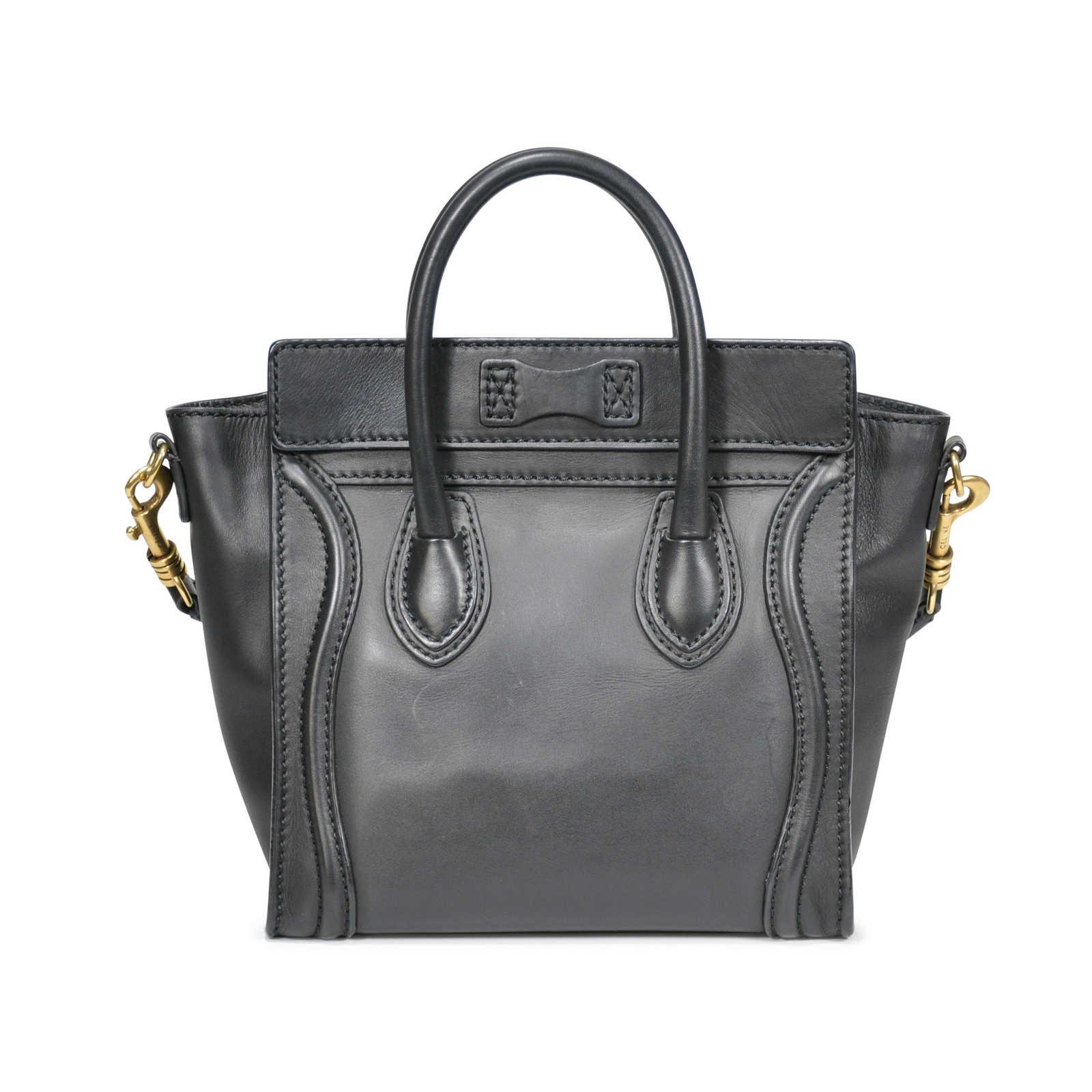 ... Authentic Second Hand Céline Nano Luggage Bag (PSS-183-00038) -  Thumbnail ... 30fa6da4ffae5