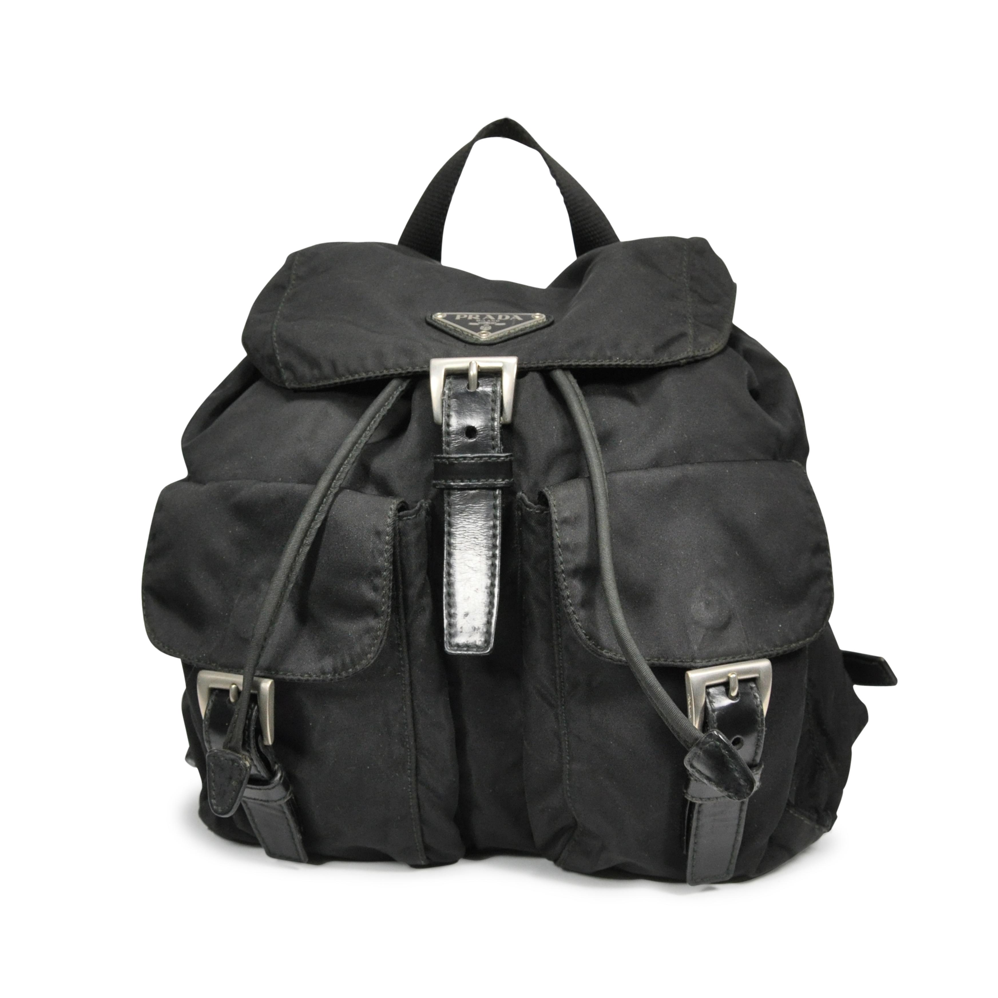 c244e5bbf45c Authentic Second Hand Prada Nylon Backpack (PSS-229-00001)