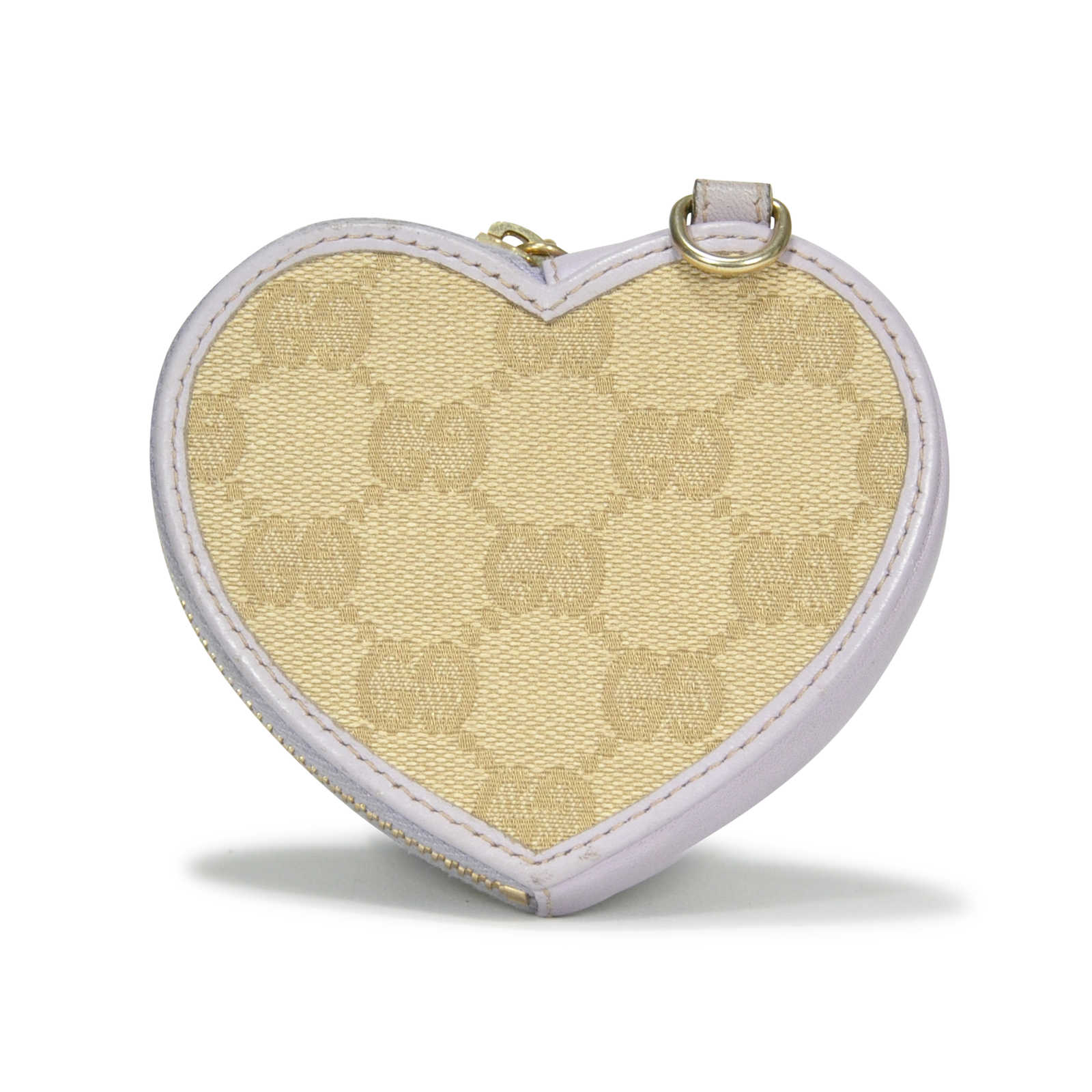 67b3ae84d84 Authentic Pre Owned Gucci Heart Monogram Coin Purse Pss 229 00005
