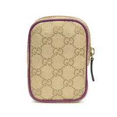 Gucci monogram pouch purple 2