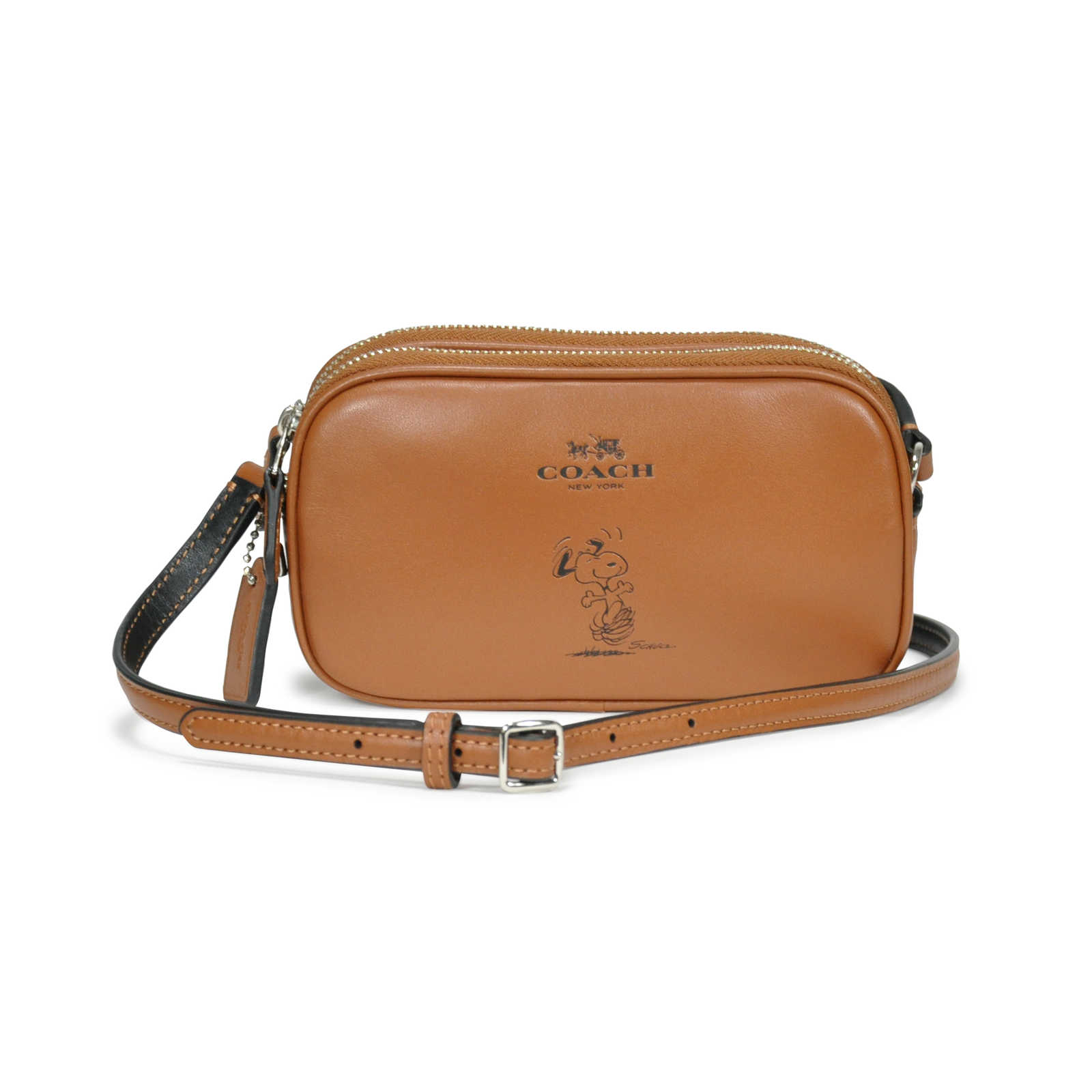 Authentic Pre Owned Coach Peanuts Crossbody Bag Pss 229 00014 Thumbnail