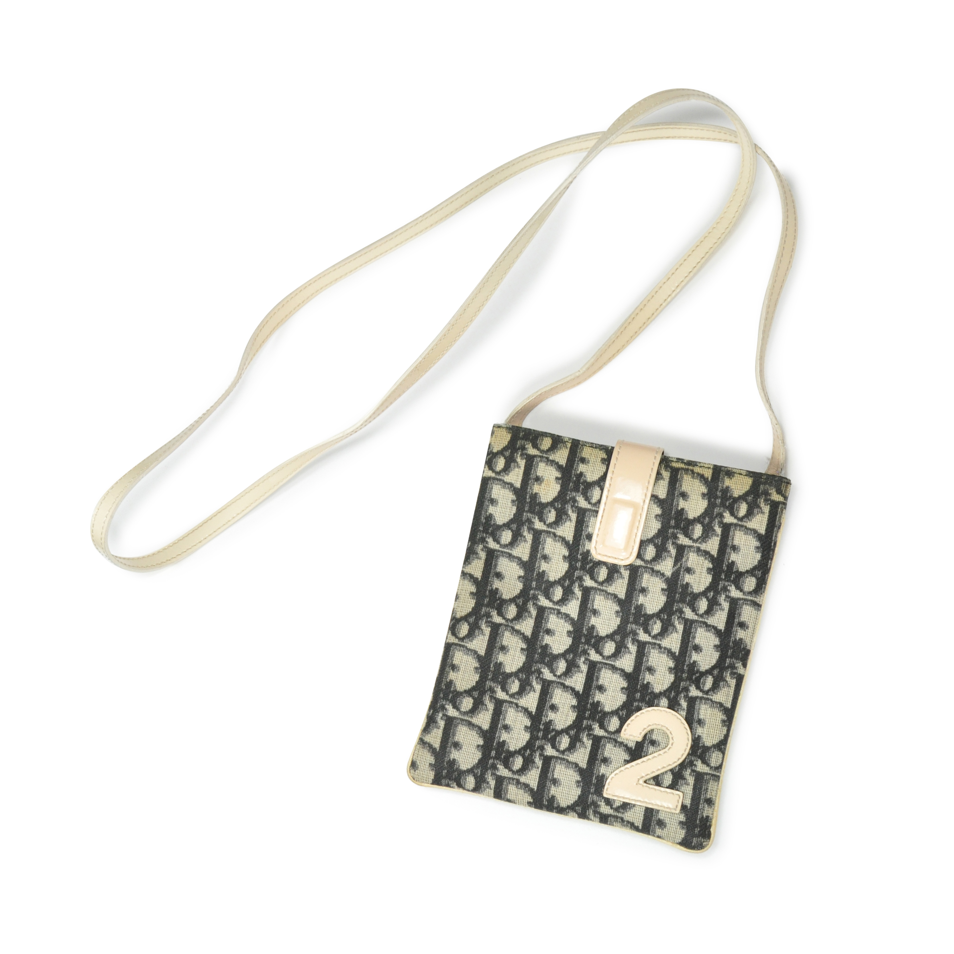 76c2b3d8abba Authentic Second Hand Christian Dior Monogram Sling Bag (PSS-229-00013)