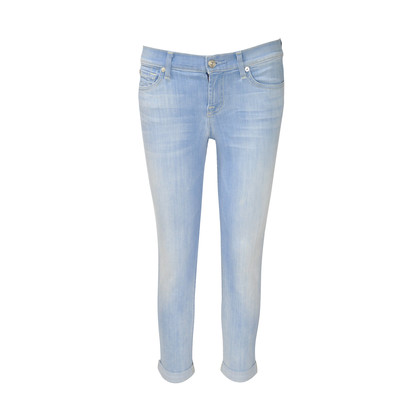 Authentic Second Hand 7 for all Mankind Crop and Roll Jeans (PSS-220-00005)