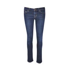 Low Rise Pencil Leg Jeans
