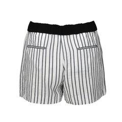 Maje striped cady shorts 2