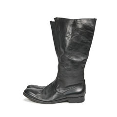 Zadig voltaire raw edge leather boots 2