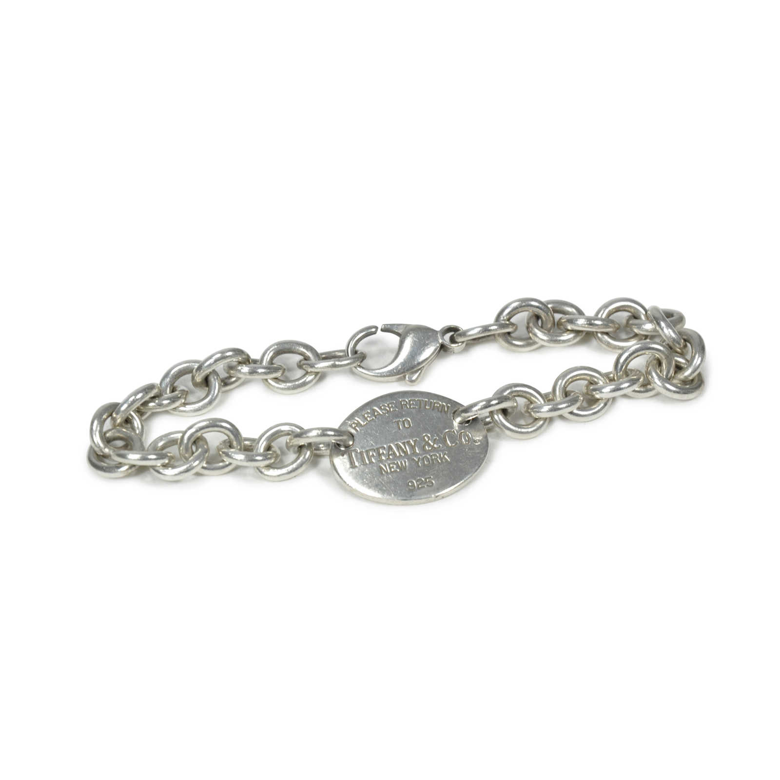 24827499def ... Authentic Second Hand Tiffany   Co Oval Tag Bracelet (PSS-220-00023) ...