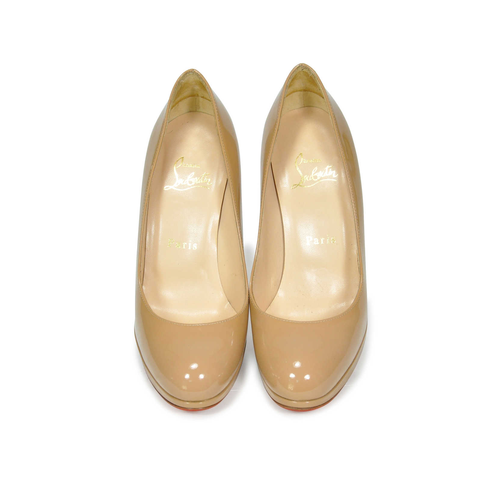 Authentic Second Hand Christian Louboutin New Simple Pumps Pss 183