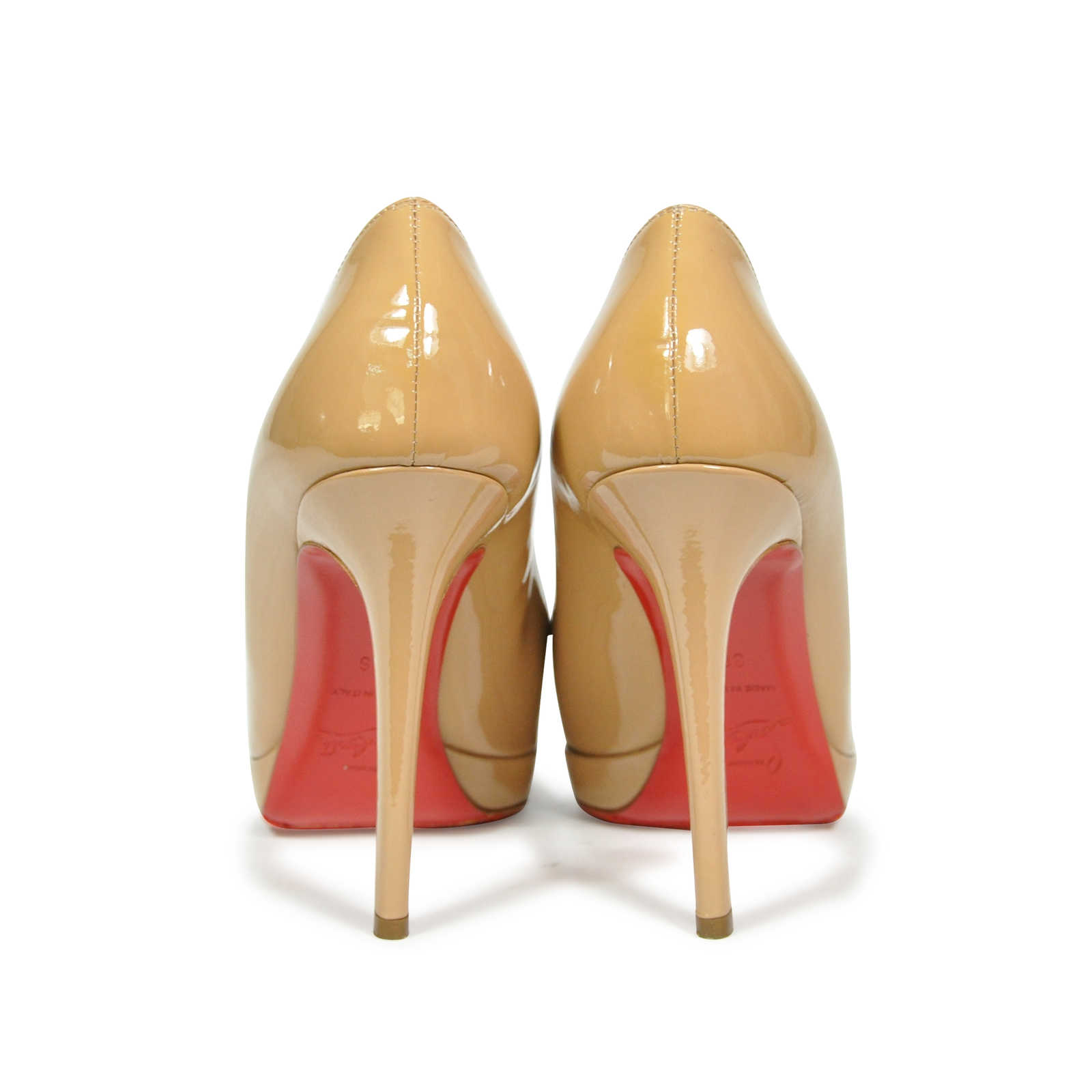 bfceeb49a00a ... Authentic Second Hand Christian Louboutin New Simple Pumps  (PSS-183-00051) -