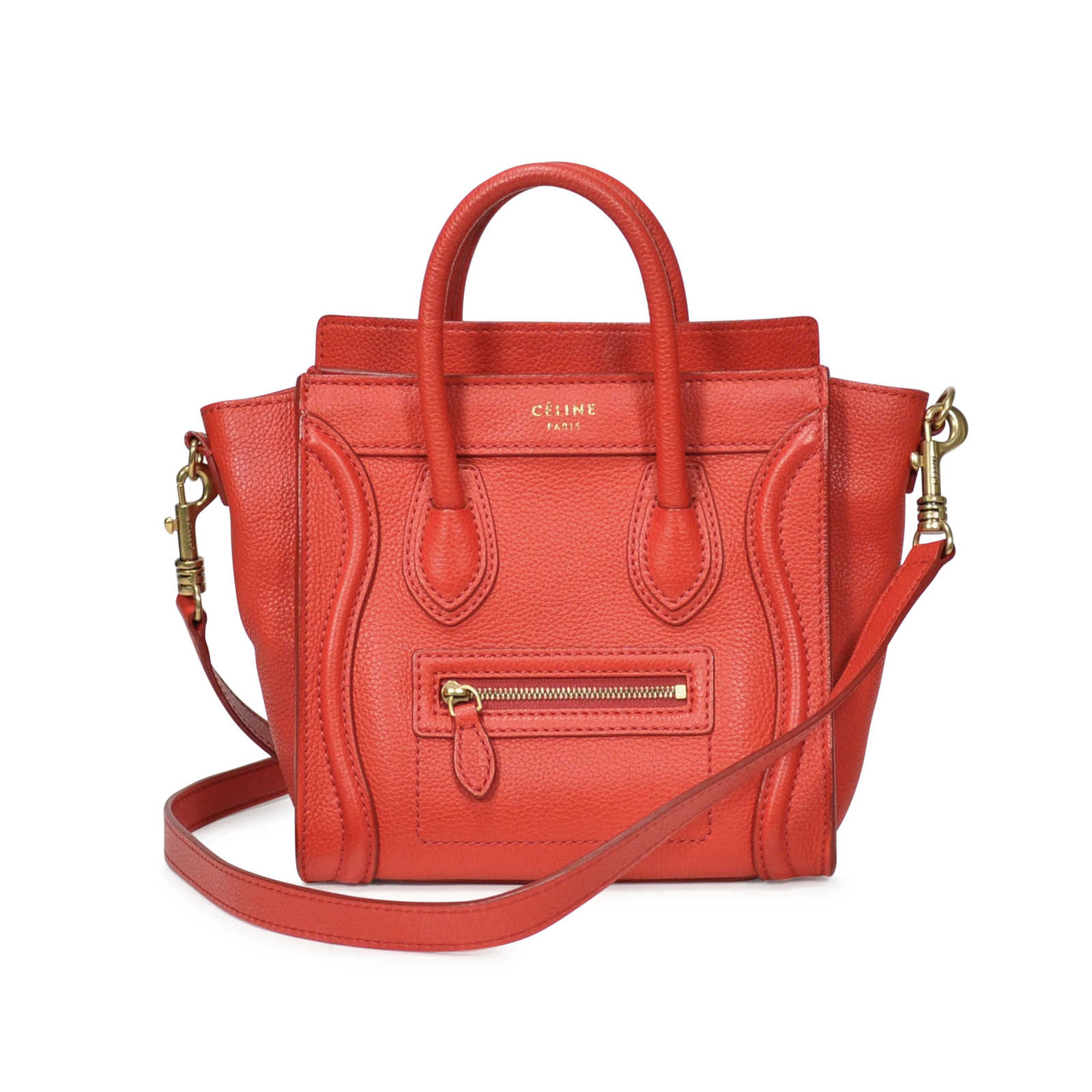 Authentic Second Hand Céline Nano Luggage Bag (PSS-183-00053) - Thumbnail  ... 6d14c598d8673