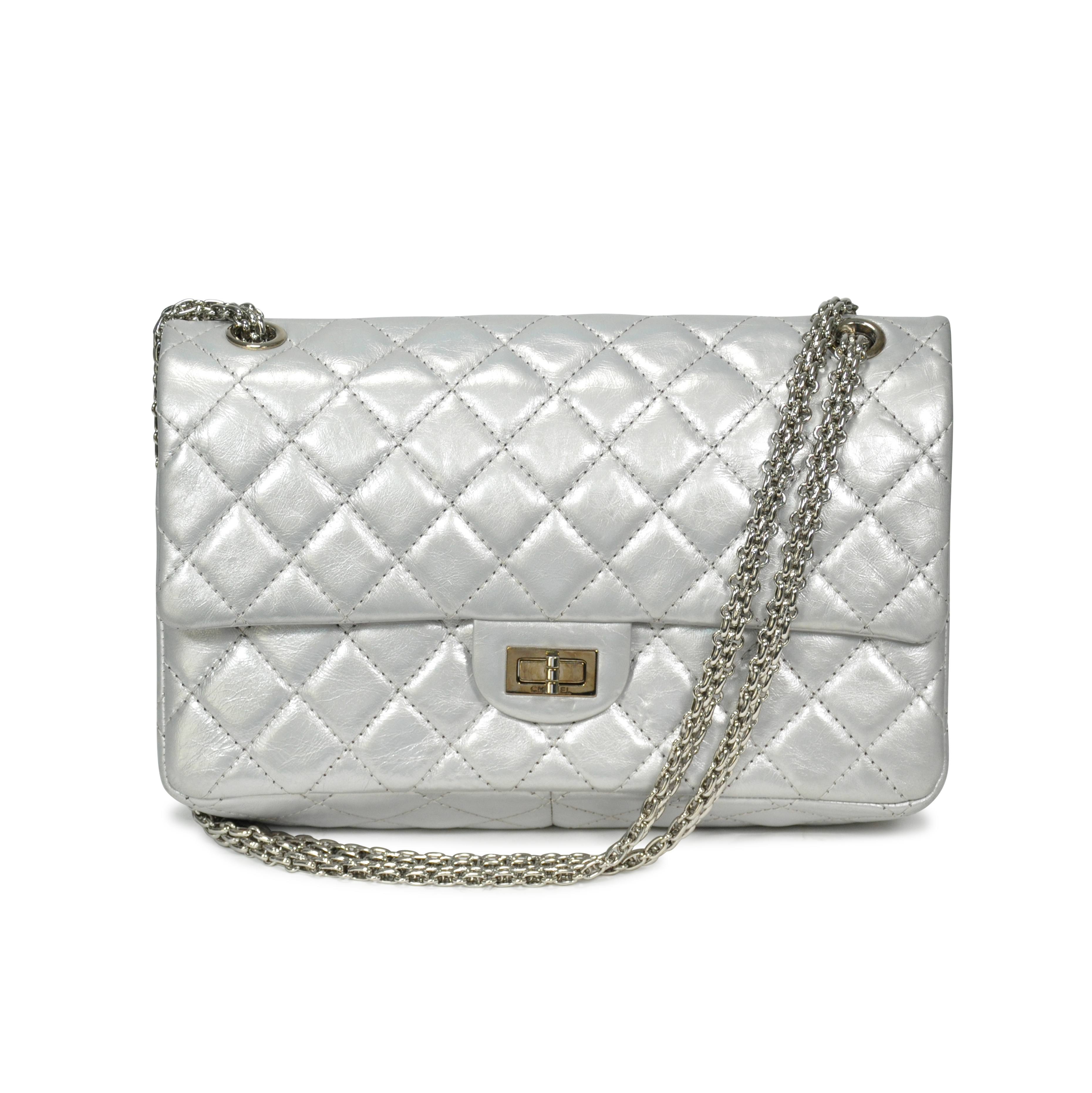 1be4e1121267 Authentic Second Hand Chanel Distressed Leather Reissue 2.55  (PSS-183-00054) | THE FIFTH COLLECTION