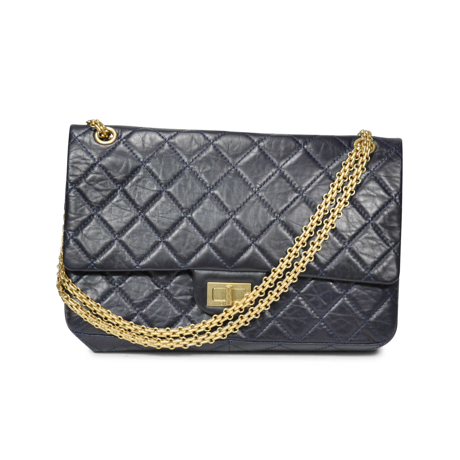 a9d17808 Authentic Second Hand Chanel Aged Calfskin Reissue 2.55 (PSS-183 ...