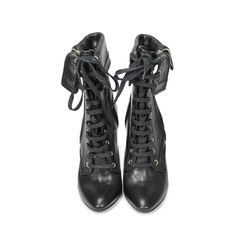 Lace Up Leather Boots