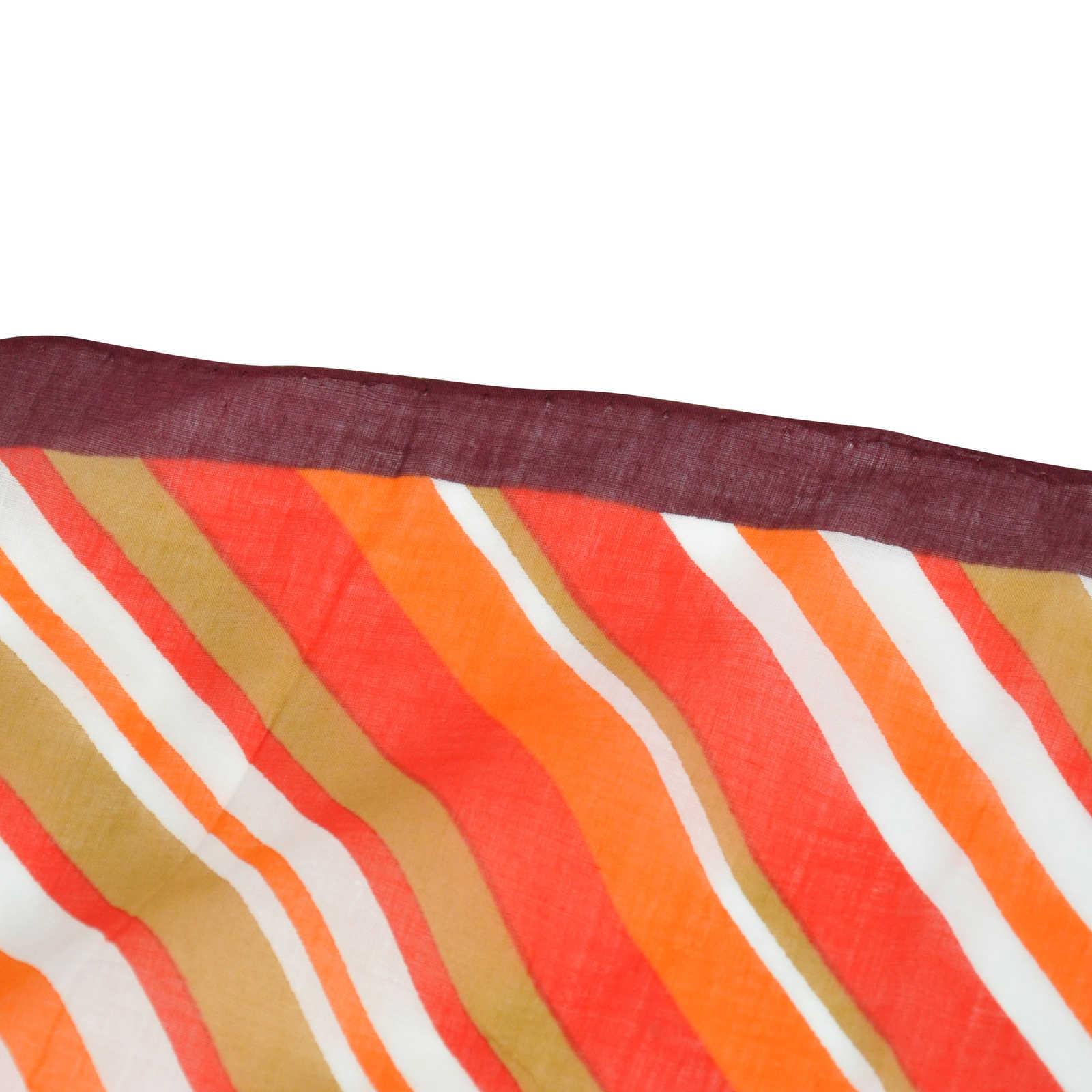 Authentic Vintage Yves Saint Laurent Geometric Silk Scarf