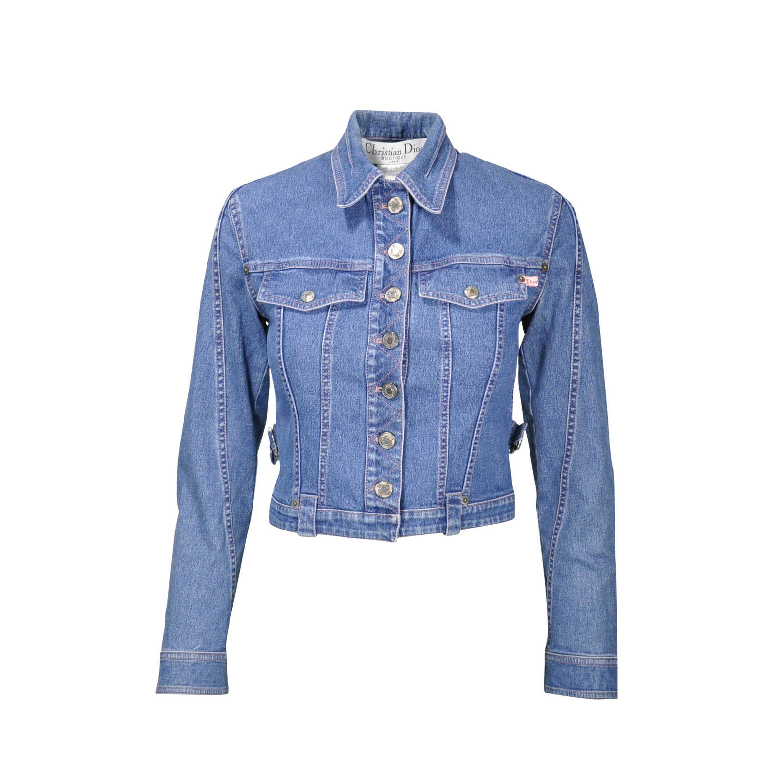 4ad4a70901c Authentic Second Hand Christian Dior Denim Jacket (PSS-240-00029) -  Thumbnail ...