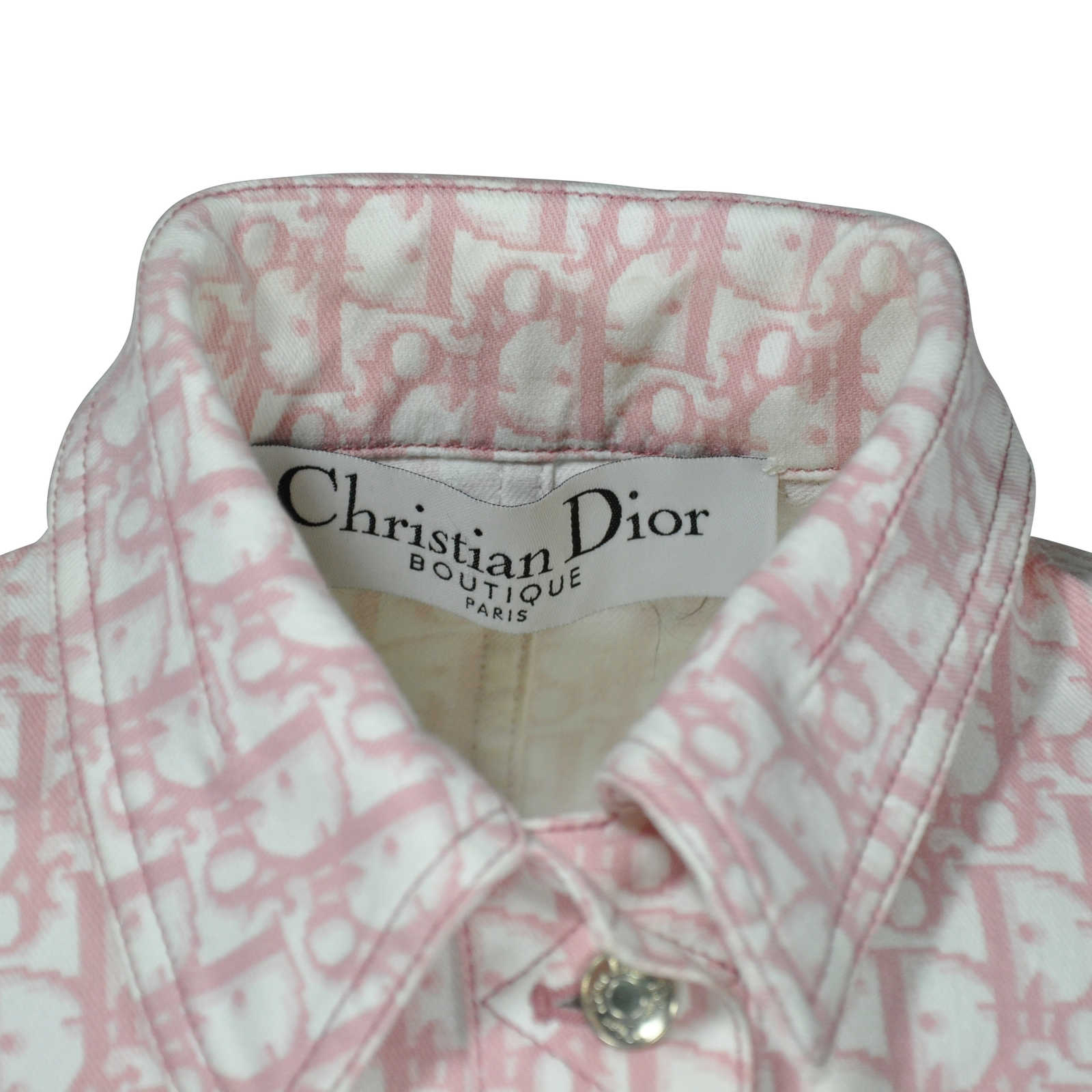 f8b5a93133f ... Authentic Second Hand Christian Dior Girly Monogram Jacket  (PSS-240-00037) -
