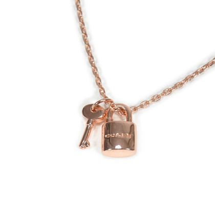 Authentic Second Hand Coach Lock and Key Necklace (PSS-233-00009)