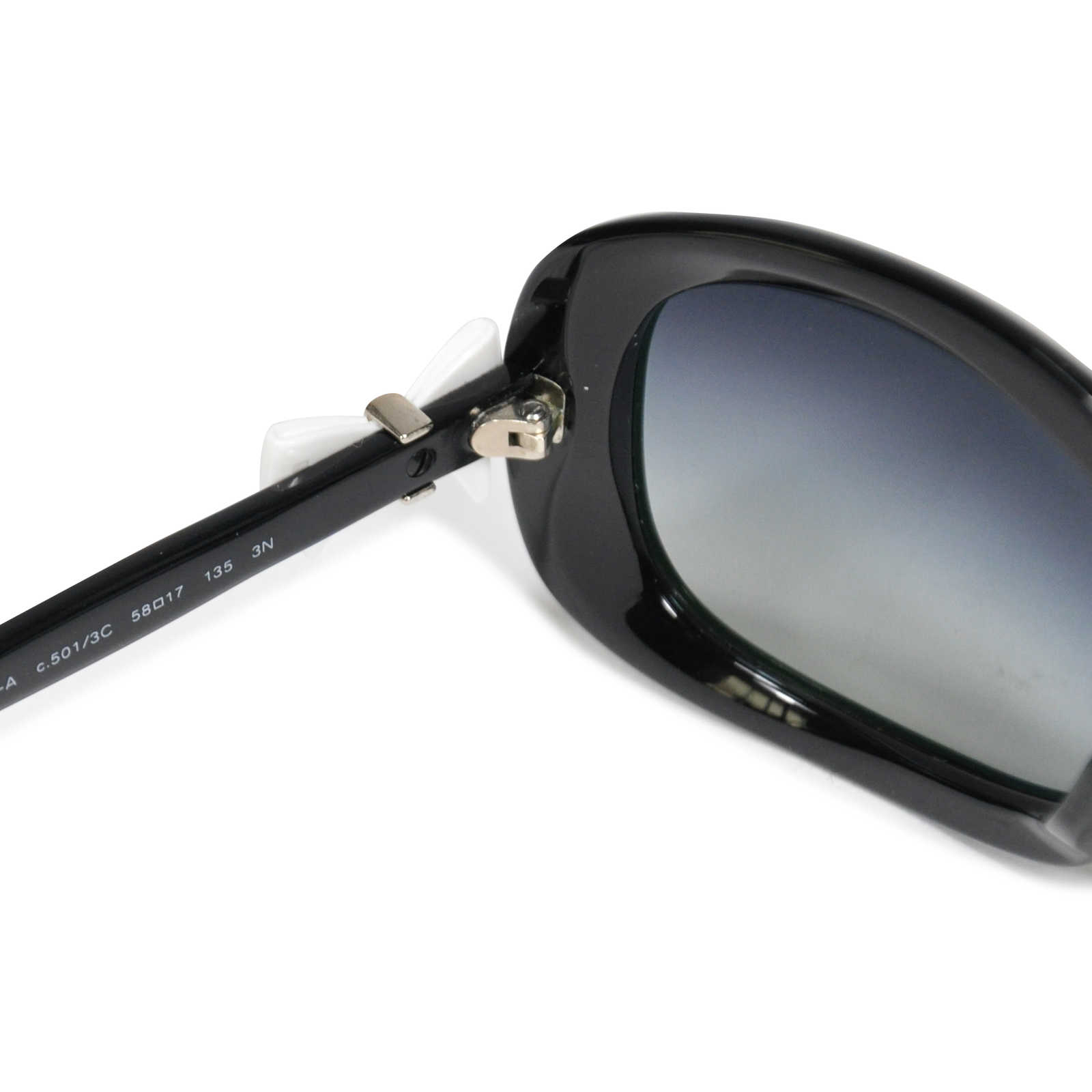 563599c757444 ... Authentic Second Hand Chanel Ribbon Side Sunglasses (PSS-233-00013) -  Thumbnail ...