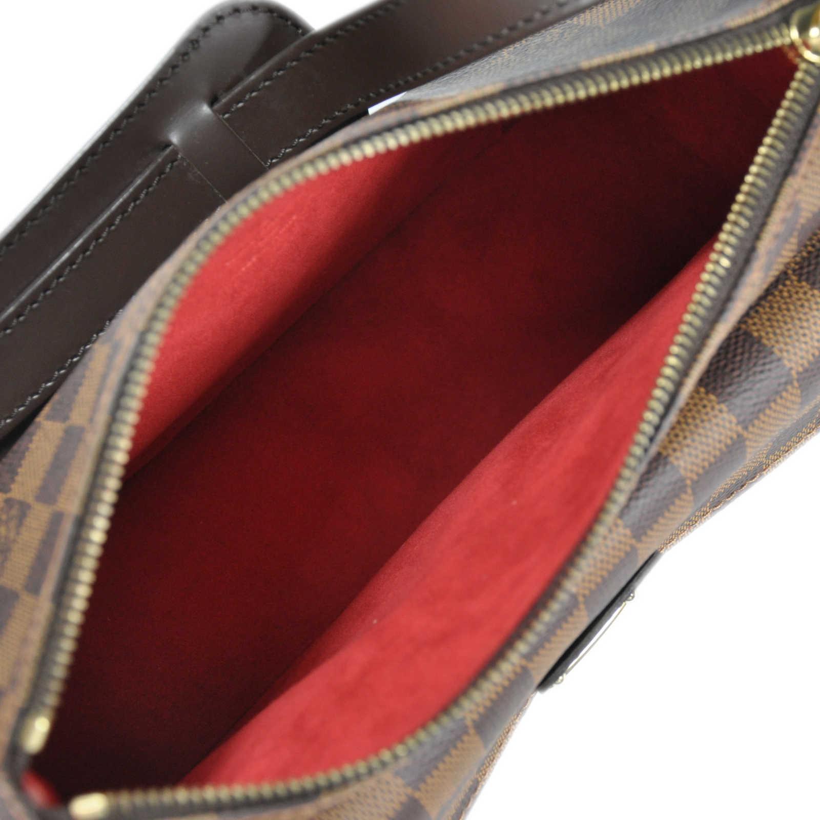 a2c2e269de0d ... Authentic Second Hand Louis Vuitton Ravello GM Ebene Damier Canvas  Shoulder Bag (TFC-852