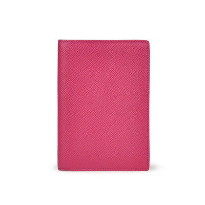 Authentic Second Hand Smythson Panama Passport Cover (PSS-190-00024)